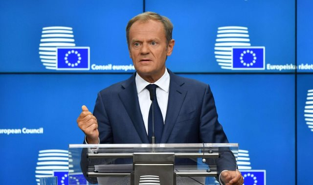 دونالد توسك - رئيس المجلس الأوروبي