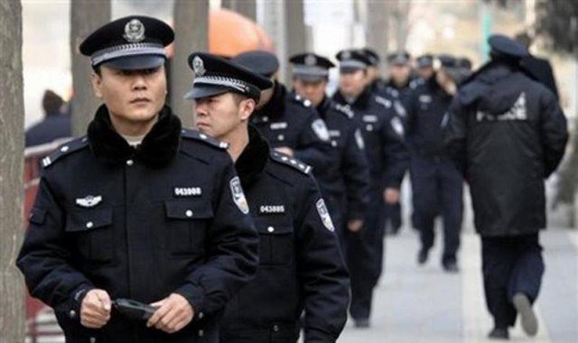 الشرطه الصينية