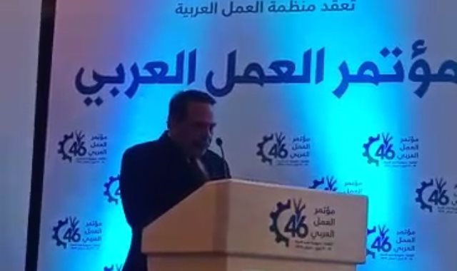 جبالى المراغى رئيس اتحاد نقابات عمال مصر