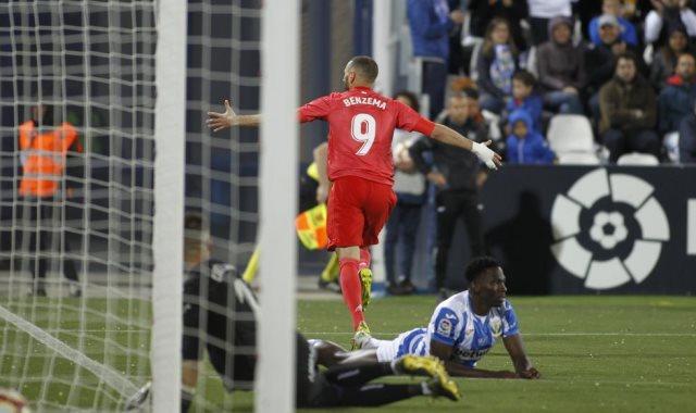 ليجانيس ضد ريال مدريد