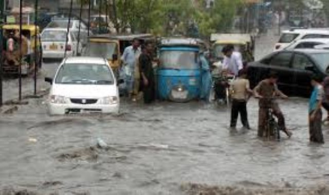 الأمطار في باكستان