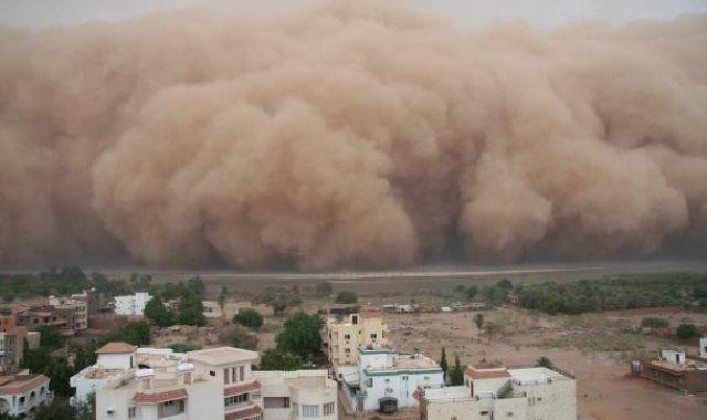 عاصفة ترابية - ارشيفية