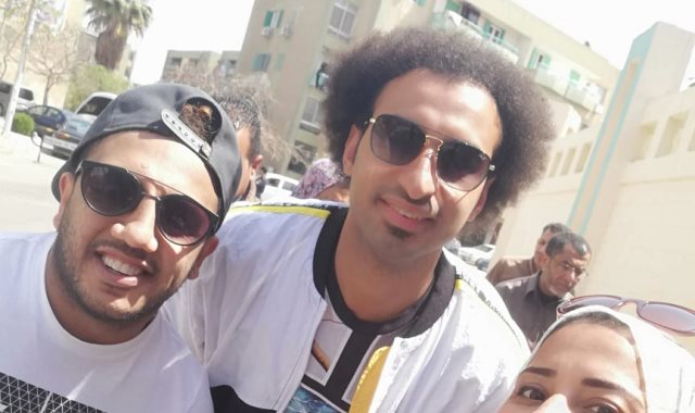علي ربيع يدلي بصوتة بلجنة الشيخ زايد