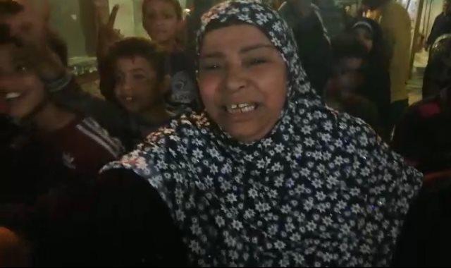 السيدات أمام لجنة مدرسة كفر عبد العزيز بقسم ثاني الزقازيق