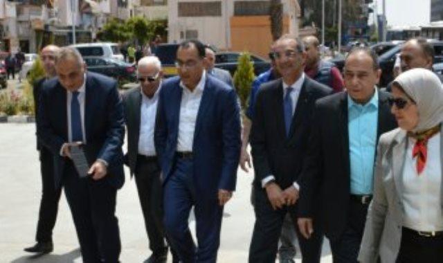 رئيس الوزراء فى بورسعيد