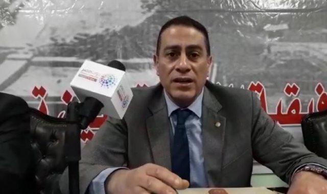 المستشار محمد عبده صالح رئيس اللجنة العامة بروض الفرج
