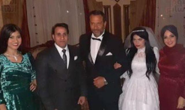 ماجد المصرى وعائلته فى زلزال