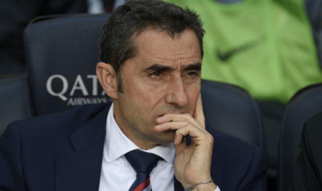 أرنستو فالفيردى مدرب نادى برشلونة