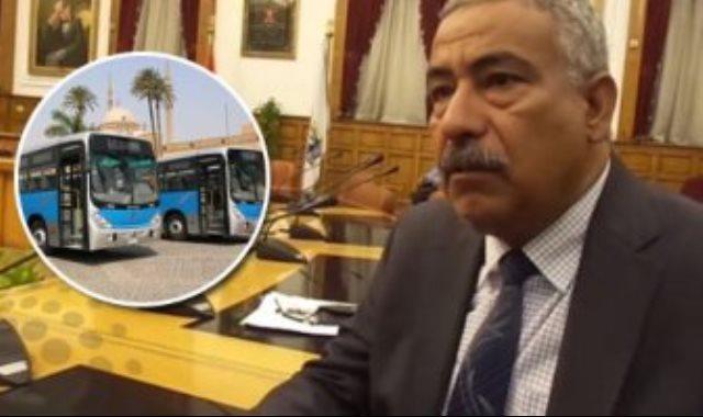 اللواء رزق على رئيس هيئة النقل العام بالقاهرة