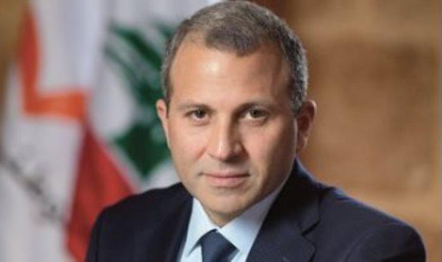 وزير الخارجية اللبنانى جبران باسيل