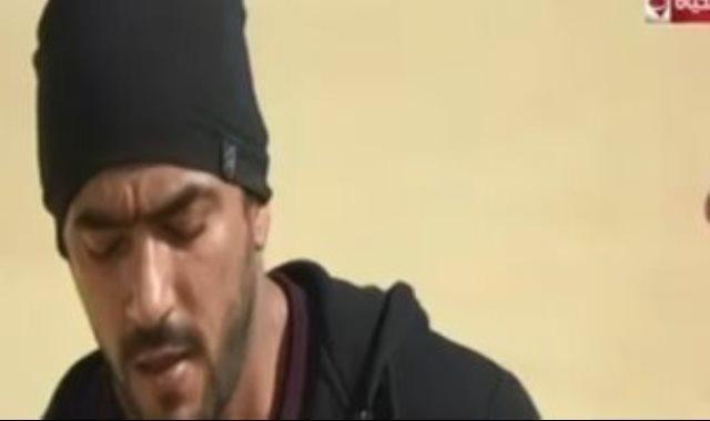 أحمد العوضى ينهار فى هانى فى الألغام