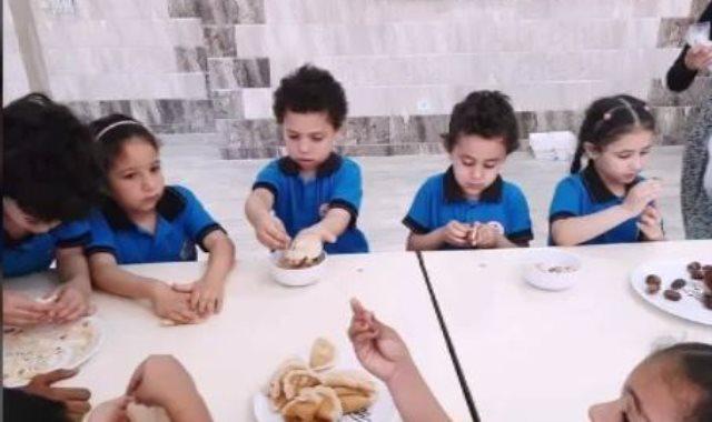 طلاب المدرسة المصرية اليابانية