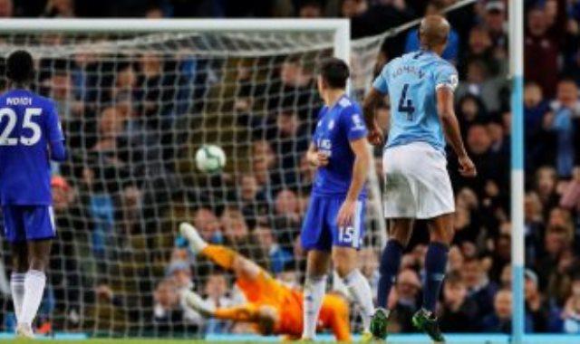 هدف كومباني ضد ليستر