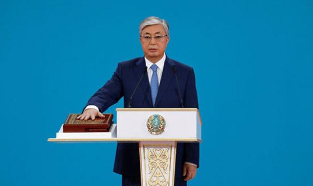 توكاييف يؤدى اليمين الدستورية رئيسا لكازاخستان