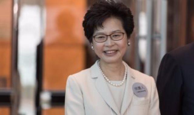 كارى لام رئيسة هونج كونج التنفيذية