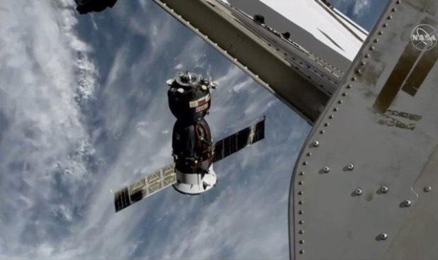 مركبة الفضاء Soyuz MS-11 تنطلق من المحطة الفضائية الدولية متجهة إلى الأرض