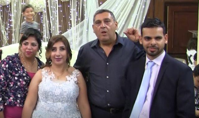 العروسان هشام وريموندا