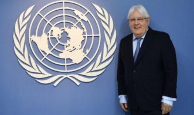 المبعوث الأممى الخاص إلى اليمن مارتن جريفيث