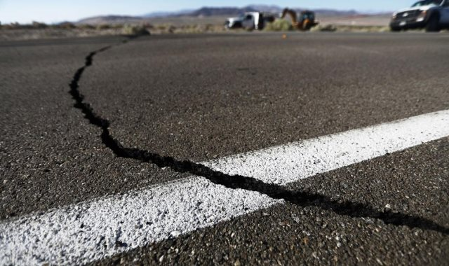 آثار زلزال - أرشيفية