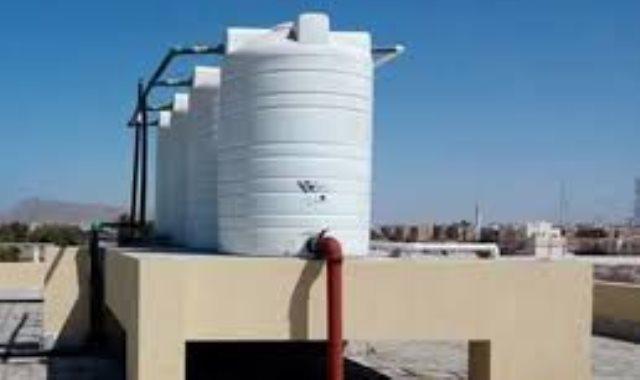 خزانات المياه بمواتير