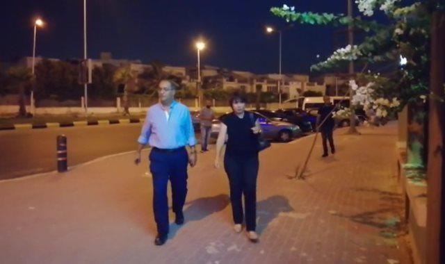 عزاء والدة داليا مصطفى