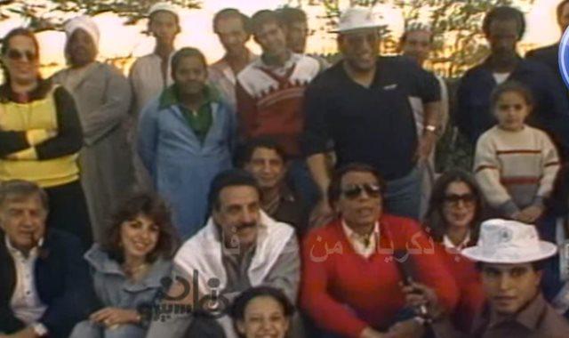 عادل إمام يعلق على مباراة 1985بين يسرا وليلى علوى ولبلبة..فيديو