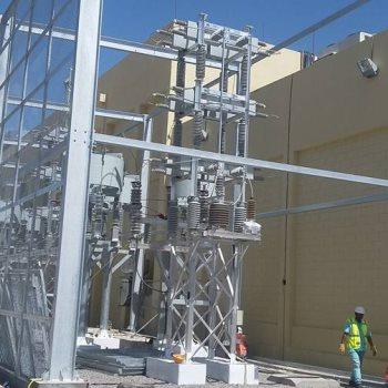 محطة كهرباء - ارشيفية