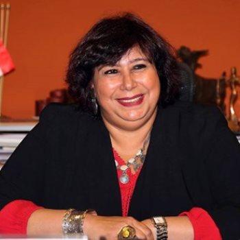 الدكتورة إيناس عبدالدايم وزيرة الثقافة،