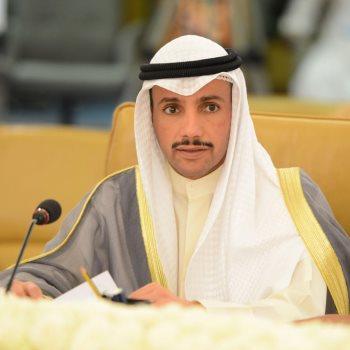 رئيس مجلس الأمة الكويتى مرزوق على الغانم