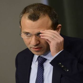 وزير خارجية لبنان جبران باسيل