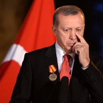 هبوط الليرة التركية بسبب أردوغان