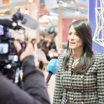 جانب من لقاء وزيرة السياحة مع وسائل الإعلام