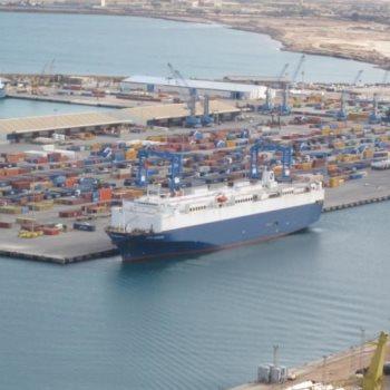 ميناء مصراتة في ليبيا