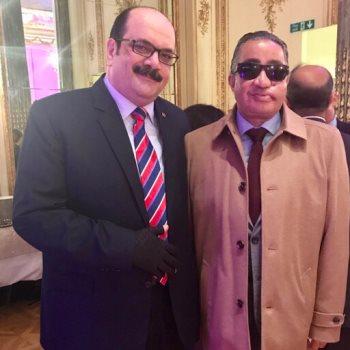 الضابط سامح عبد الفتاح  والعقيد ساطع النعمانى