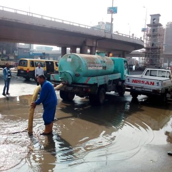 سيارات شفط المياه بالغربية