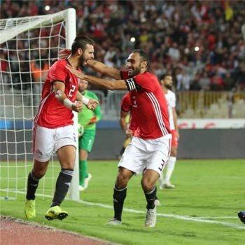 لاعبو منتخب مصر