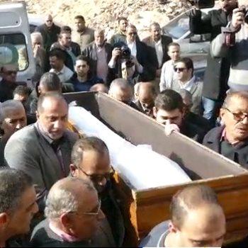 صلاة الجنازة على إبراهيم سعدة