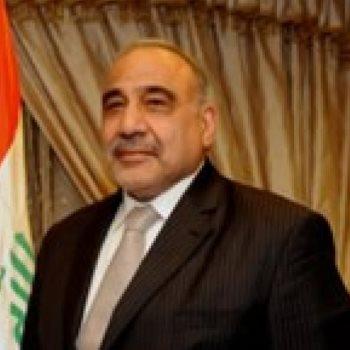رئيس الوزراء العراقى عادل عبد المهدى