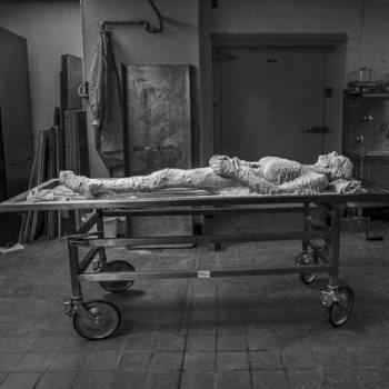 جثة المرأة المتطوعة