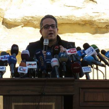 الدكتور خالد العنانى، وزير الآثار