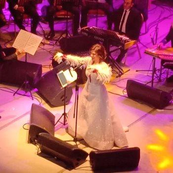 أصالة تُشعل حفل افتتاح مهرجان الأغنية بالإسكندرية