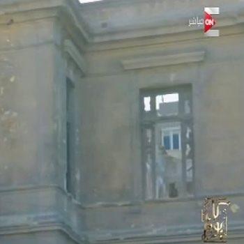شاهد..قصر الخديو توفيق بحلوان يعانى الإهمال