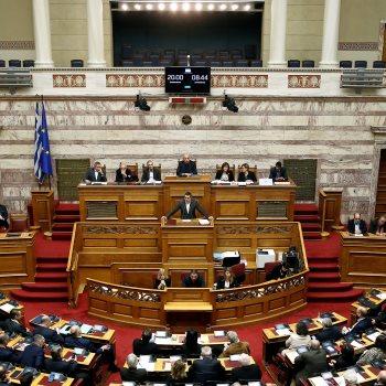 البرلمان اليونانى يمنح الثقة لحكومة رئيس الوزراء أليكسيس