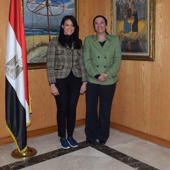 وزيرتا السياحة والبيئة
