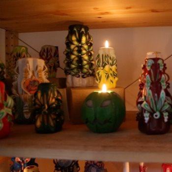 فن النحت على الشموع