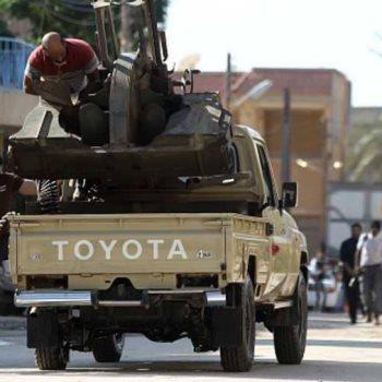 المسلحون في ليبيا