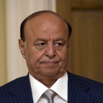 عبدربه منصور هادى الرئيس اليمنى