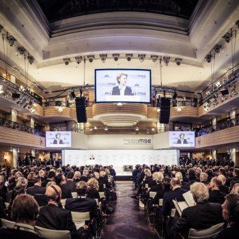 مؤتمر ميونخ للأمن بألمانيا.