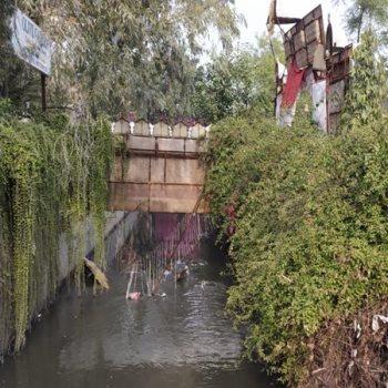 انهيار جسر