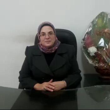 الدكتورة عايدة عطية مقررة فرع المجلس القومى للمرأة بالشرقية